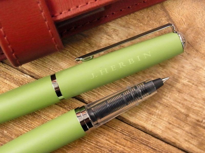 画像2: 【ネコポスOK】 J.HERBIN/エルバン カートリッジインク用ペン グリーン