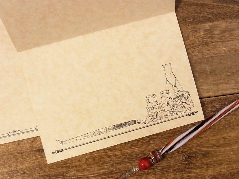 画像3: 【ネコポスOK】 生みたて卵屋 2つ折りカード 鉱石採集