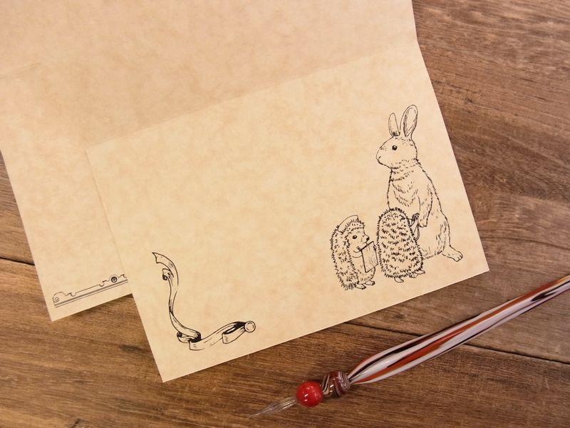 画像3: 【ネコポスOK】 生みたて卵屋 2つ折りカード ハリネズミ