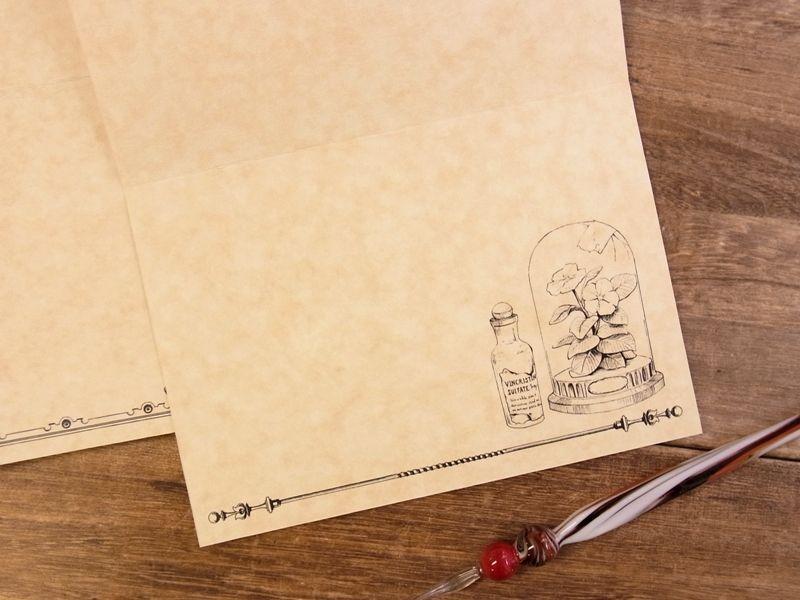 画像3: 【ネコポスOK】 生みたて卵屋 2つ折りカード 薬用植物