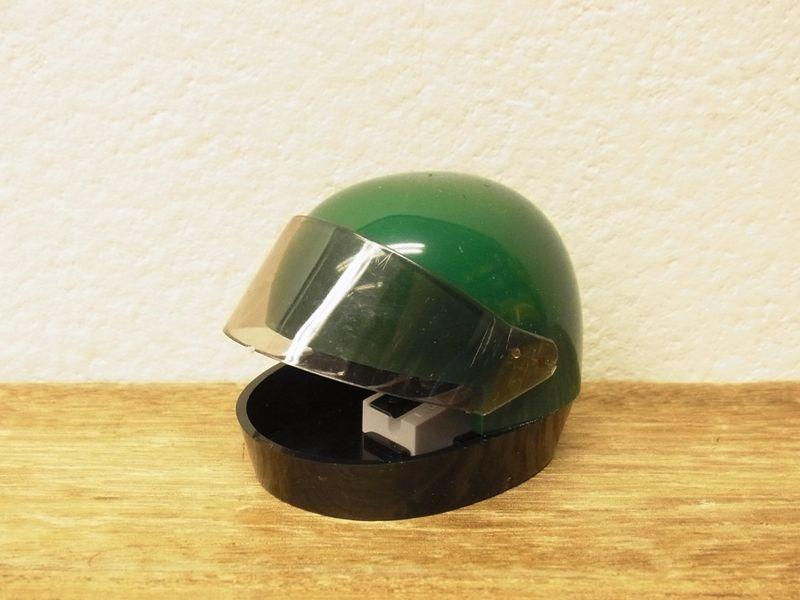 画像1: 【ネコポスNG】【デットストック】 西ドイツ KUM ヘルメット型シャープナー グリーン