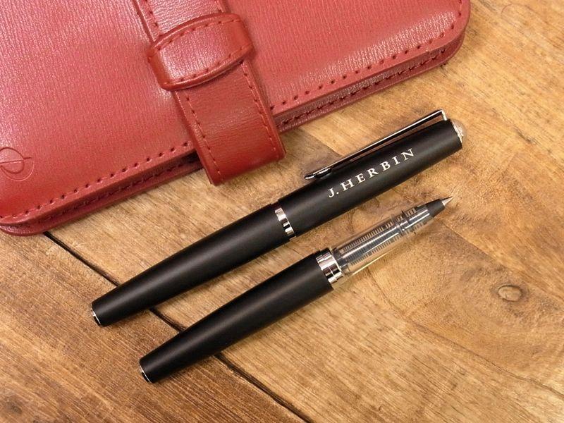 画像1: 【ネコポスOK】 J.HERBIN/エルバン カートリッジインク用ペン ブラック