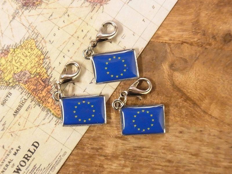 画像4: 【ネコポスOK】 世界の国旗 チャーム [欧州連合/EU] 1個