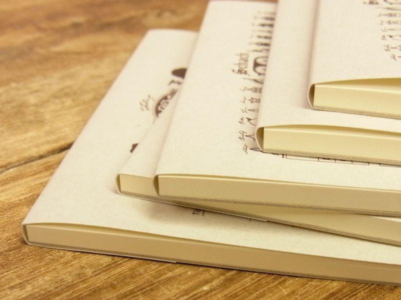 画像3: 【ネコポスOK】 旅屋オリジナル 旅屋萬年筆紙 メモ帳 A6 smoking