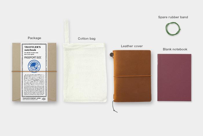 画像2: 【ネコポスOK】 Traveler's Notebook/トラベラーズノート パスポートサイズ キャメル