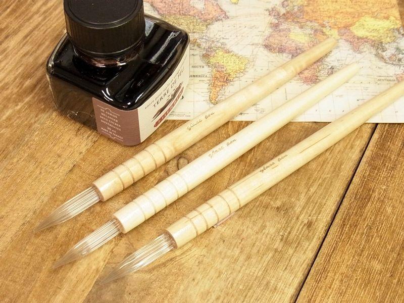 画像2: 【ネコポスOK】 台湾 ガラスペン ナチュラル