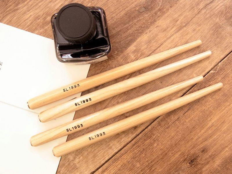 画像1: 【ネコポスOK】 木製ペン軸