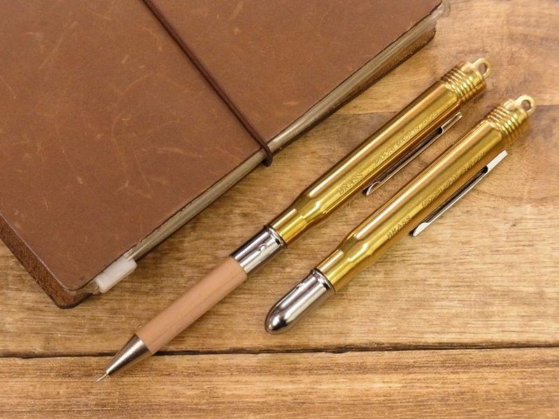 画像1: 【ネコポスOK】 BRASS/ブラス ボールペン
