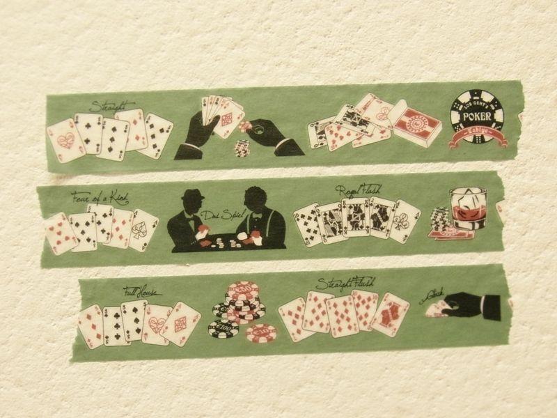 画像3: 【ネコポスOK】 旅屋オリジナル マスキングテープ Poker