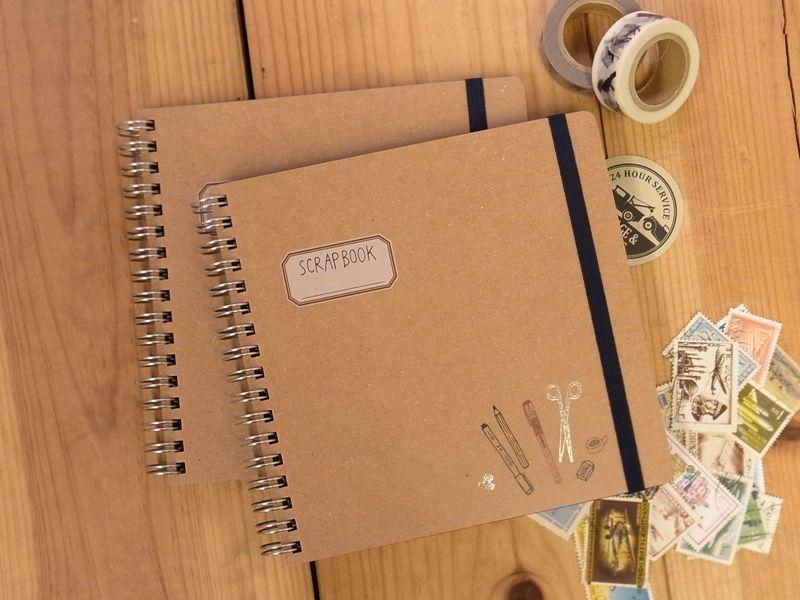 画像1: 【ネコポスOK】 SCRAP BOOK/スクラップブック Best stationery