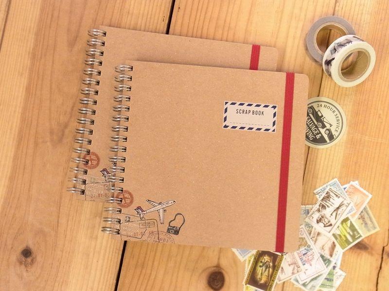 画像1: 【ネコポスOK】 SCRAP BOOK/スクラップブック Fun trip
