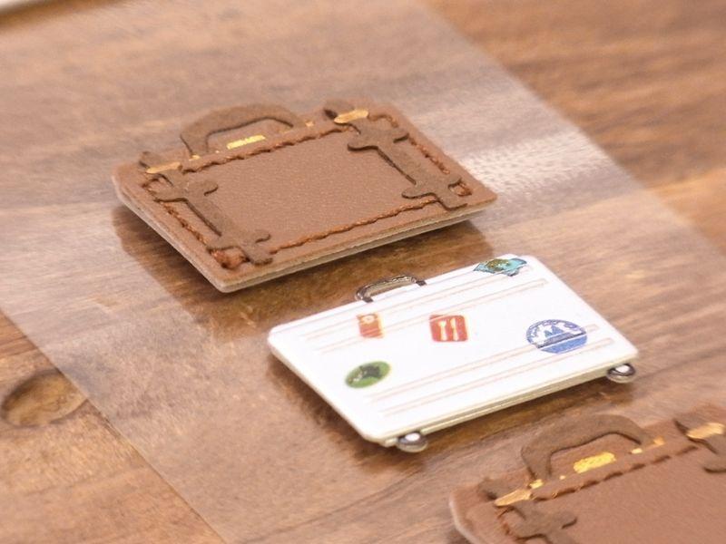 画像2: 【ネコポスOK】 Sticker&Parts Sticker/モチーフ&パーツシール トランク