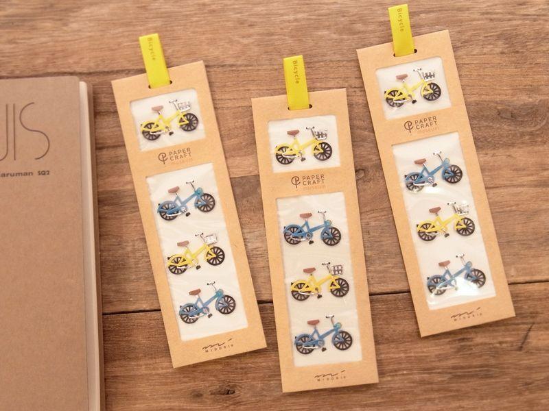 画像1: 【ネコポスOK】 Sticker&Parts Sticker/モチーフ&パーツシール 自転車