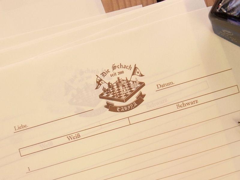 画像1: 【ネコポスOK】 旅屋萬年筆紙 WRITING PAPER Chess 30枚入り