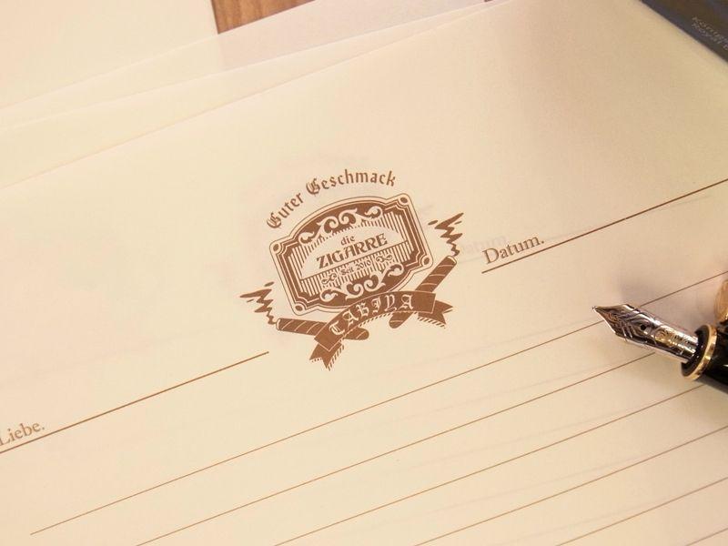 画像1: 【ネコポスOK】 旅屋萬年筆紙 WRITING PAPER Smoking 30枚入り