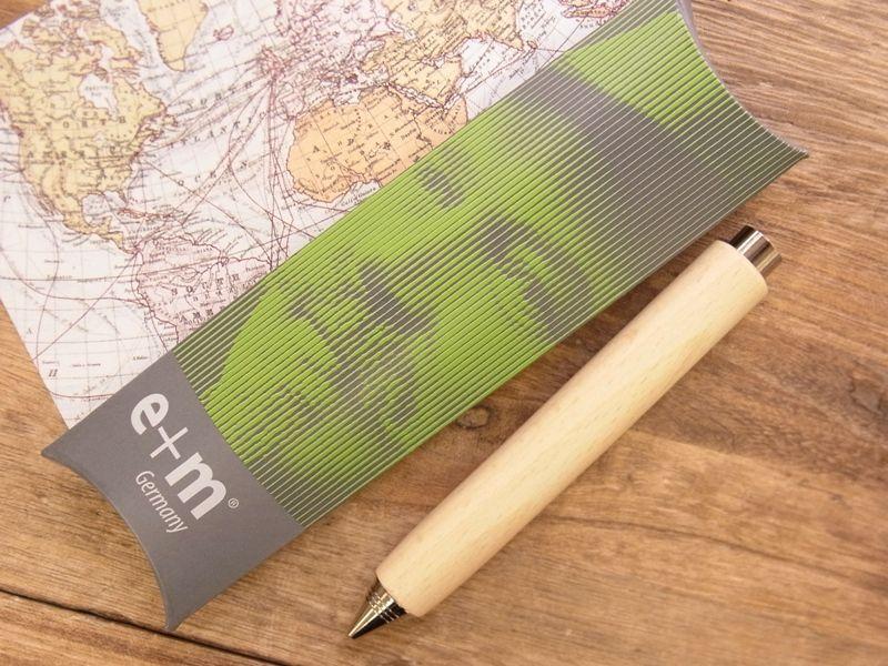 画像5: 【ネコポスOK】 ドイツ e+m Workman Automatic Pencil 2.0/シャープペンシル ナチュラル