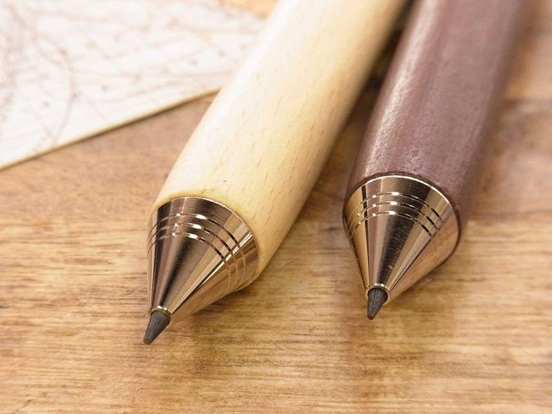 画像4: 【ネコポスOK】 ドイツ e+m Workman Automatic Pencil 2.0/シャープペンシル ナチュラル