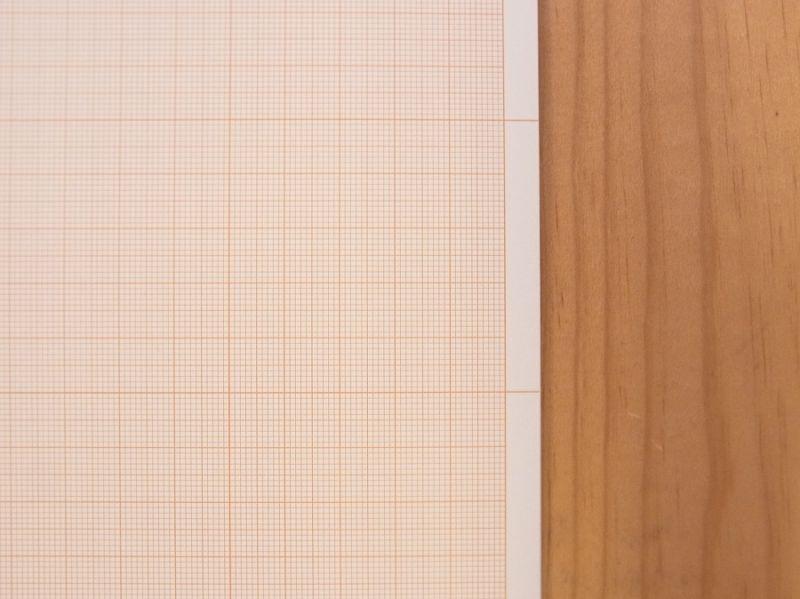 画像2: 【買付け品】【ネコポスOK】 エストニア KP Factory Graph paper A4