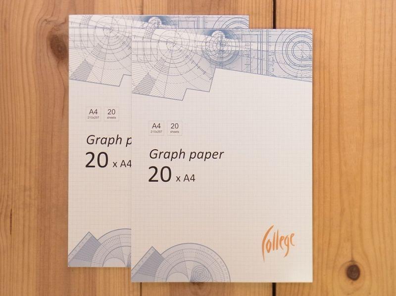 画像1: 【買付け品】【ネコポスOK】 エストニア KP Factory Graph paper A4