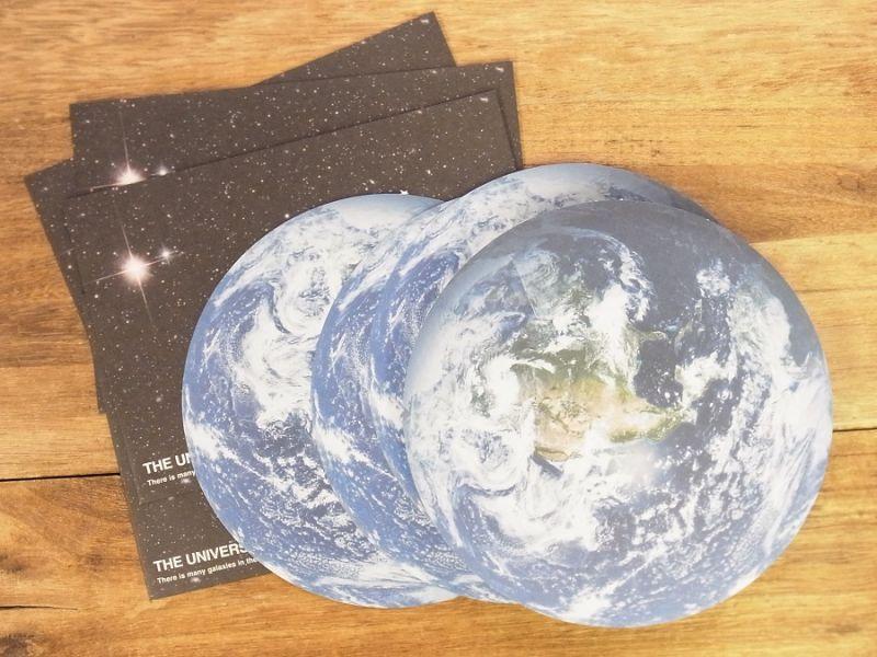 画像1: 【ネコポスOK】 THE UNIVERSE レターセット 地球