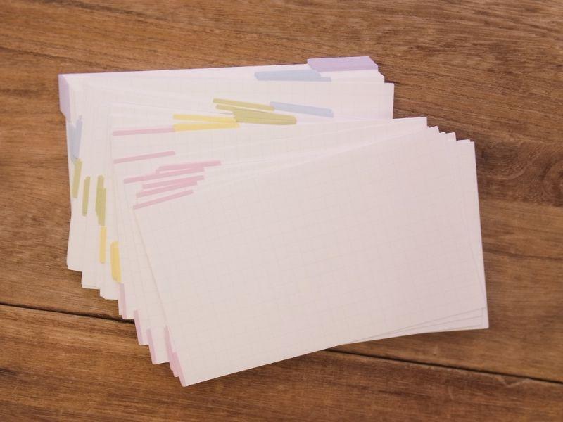 画像2: 【ネコポスOK】 kamiterior 紙製ジョッター memottala/メモッタラ 情報カード インデックス