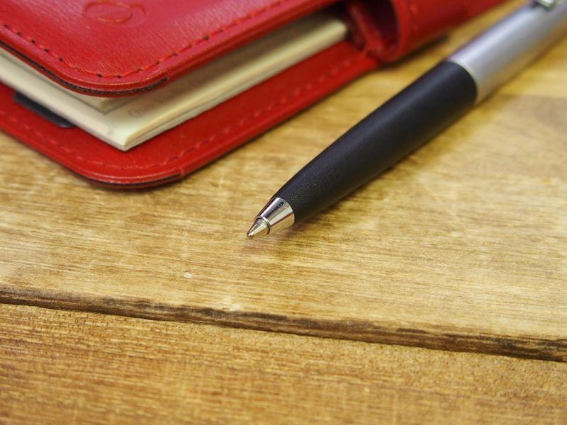画像4: 【デットストック】【ネコポスOK】 西ドイツ rambold/ランボルド ノック式ボールペン シルバー×ブラック