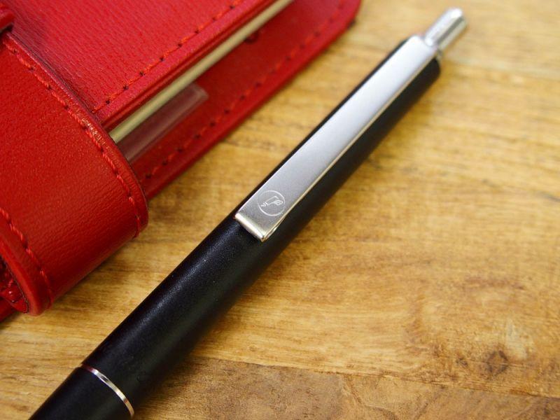 画像2: 【デットストック】【ネコポスOK】 西ドイツ rambold/ランボルド ノック式ボールペン ブラック
