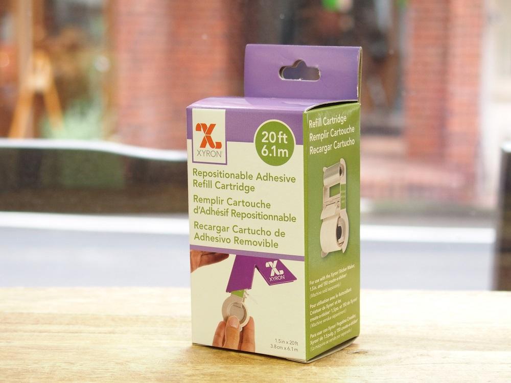 画像1: 【ネコポスNG】 XYRON/ザイロン シールメーカーカートリッジ 貼りはがしタイプ