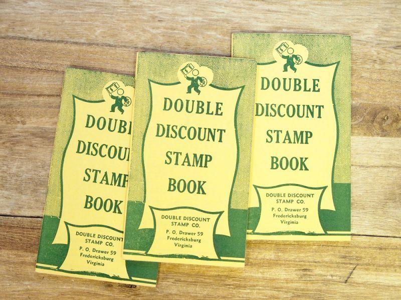 画像2: 【ネコポスOK】 アメリカ DOUBLE DISCOUNT STAMP BOOK/スタンプクーポンブック