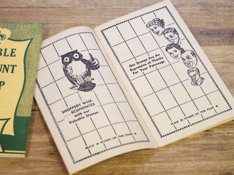 画像4: 【ネコポスOK】 アメリカ DOUBLE DISCOUNT STAMP BOOK/スタンプクーポンブック
