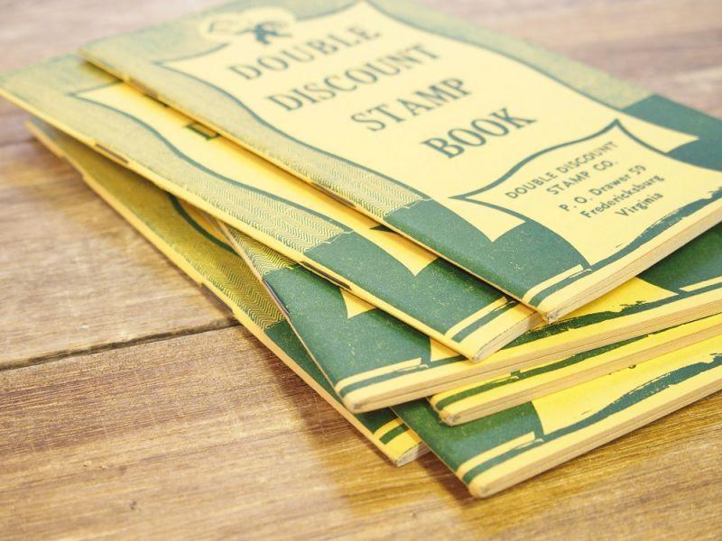 画像3: 【ネコポスOK】 アメリカ DOUBLE DISCOUNT STAMP BOOK/スタンプクーポンブック
