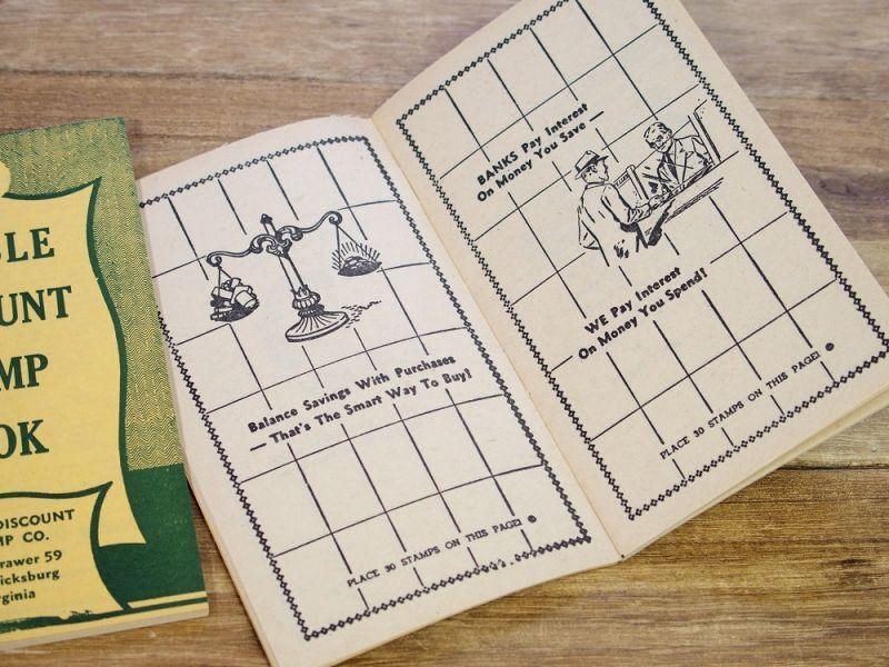 画像5: 【ネコポスOK】 アメリカ DOUBLE DISCOUNT STAMP BOOK/スタンプクーポンブック