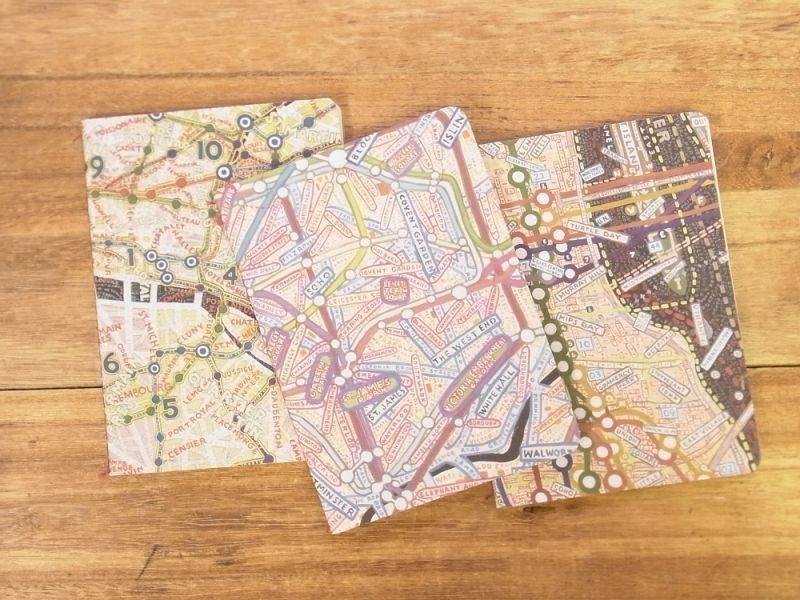画像1: 【ネコポスOK】 アメリカ Princeton Architectural Press マップ ミニジャーナル 3冊セット