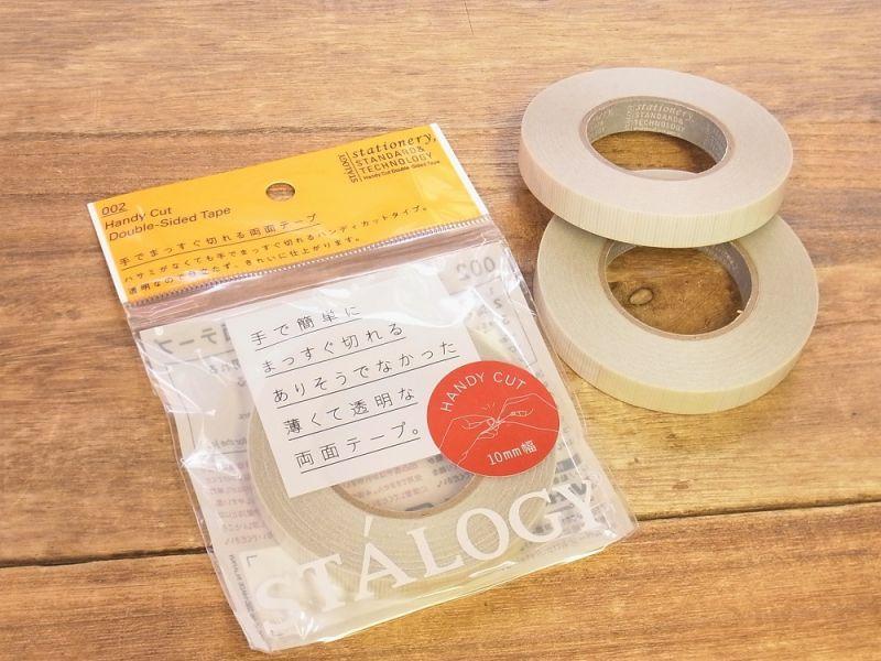 画像1: 【ネコポスOK】 ニトムズ 手でまっすぐ切れる両面テープ