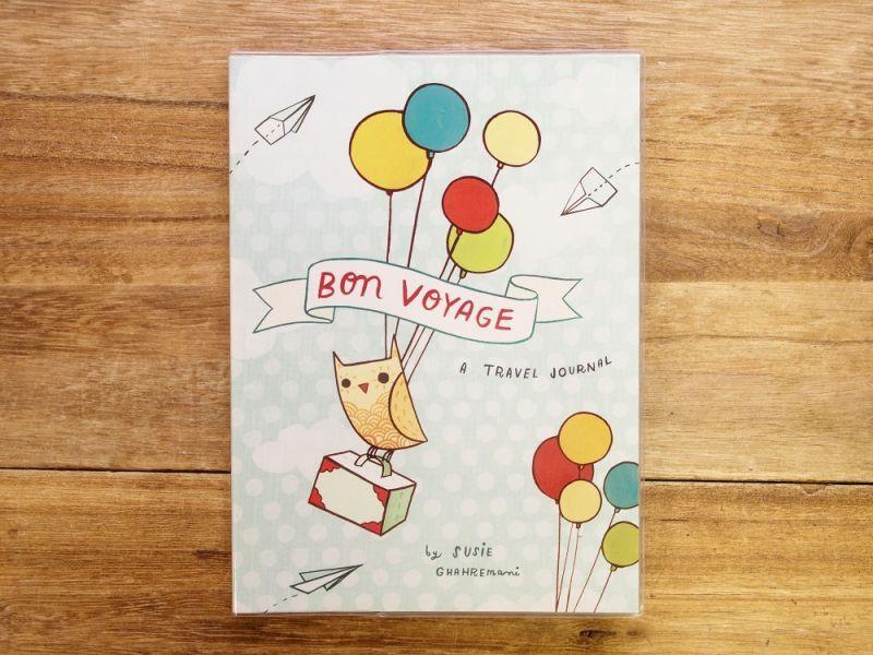 画像1: 【ネコポスOK】 アメリカ CHRONICLE BOOKS BON VOYAGE トラベルジャーナル