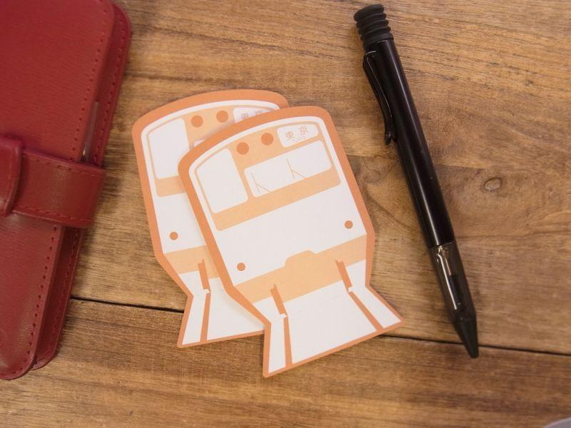 画像1: 【ネコポスOK】 TRAINIART/トレニアート ARRIVAL FUSEN 中央線