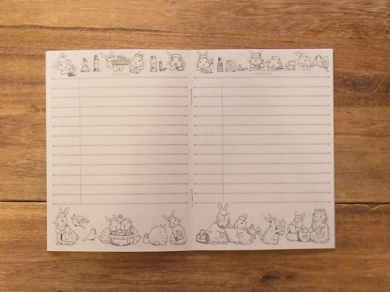 画像5: 【ネコポスOK】 生みたて卵屋 お薬手帳 うさぎの小児科