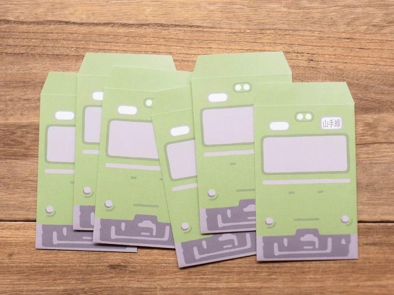 画像2: 【ネコポスOK】 TRAINIART/トレニアート TRAIN POCHI BUKURO 山手線