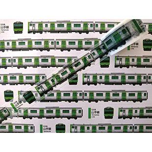 画像2: 【ネコポスOK】 TRAINIART/トレニアート マスキングテープ E235系山手線車両