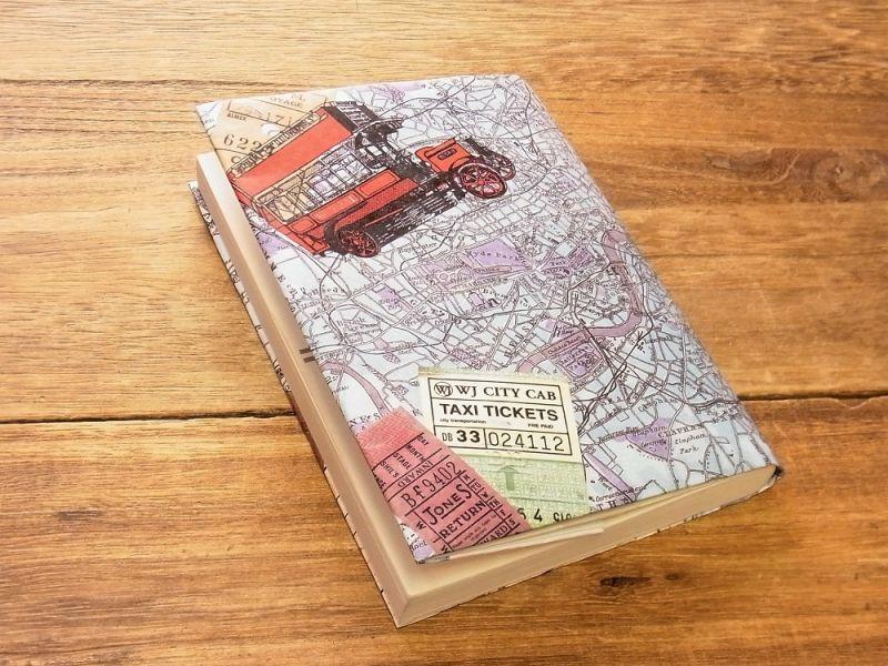 画像1: 【ネコポスOK】 TYVEK/タイベック ブックカバー 文庫サイズ ロンドン