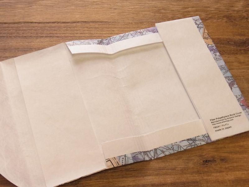 画像3: 【ネコポスOK】 TYVEK/タイベック ブックカバー 文庫サイズ ロンドン