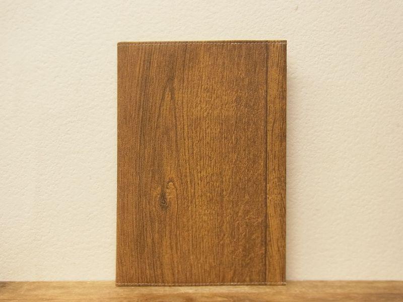 画像1: 【ネコポスOK】 Quaint Design/クイントデザイン GRAFICA DECORA BAMBOO NOTE A5 wood board