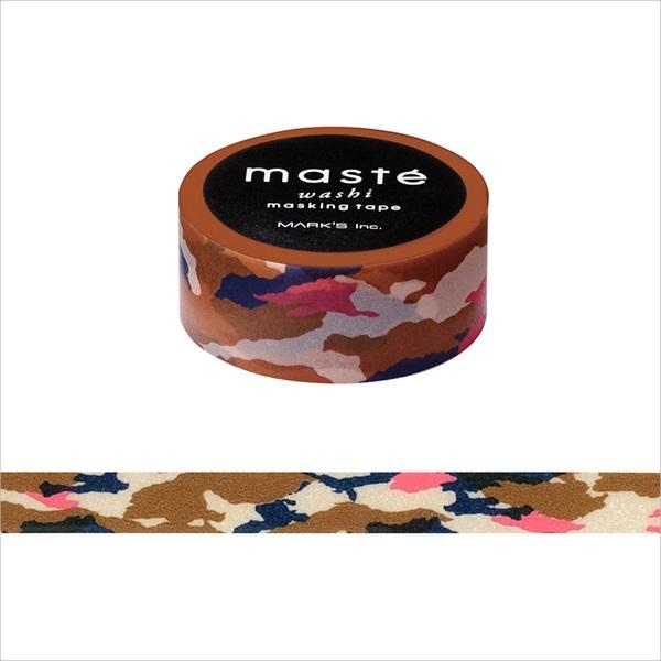 画像2: 【ネコポスOK】 マークス マスキングテープ パターン カモフラージュ キャメル