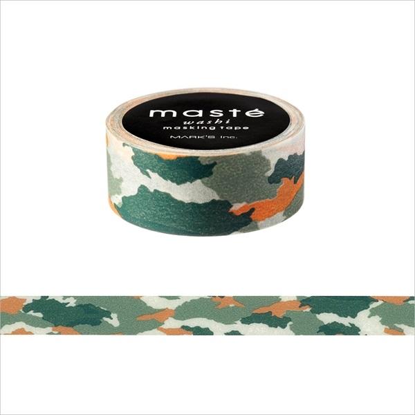 画像2: 【ネコポスOK】 マークス マスキングテープ パターン カモフラージュ グリーン