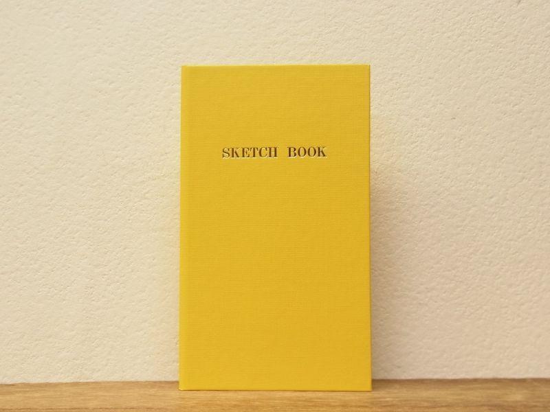 画像1: 【ネコポスOK】 コクヨ リミテッドカラー測量野帳 SKETCH BOOK イエロー