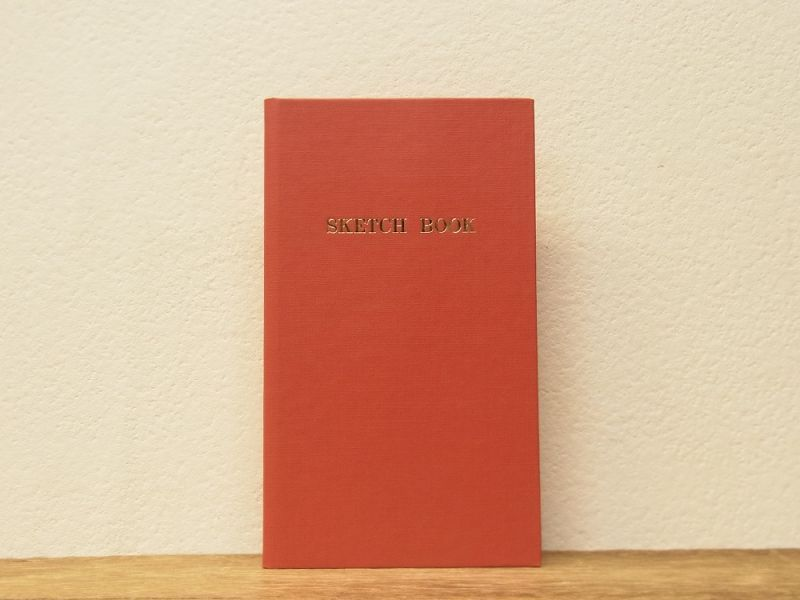 画像1: 【ネコポスOK】 コクヨ リミテッドカラー測量野帳 SKETCH BOOK レッド