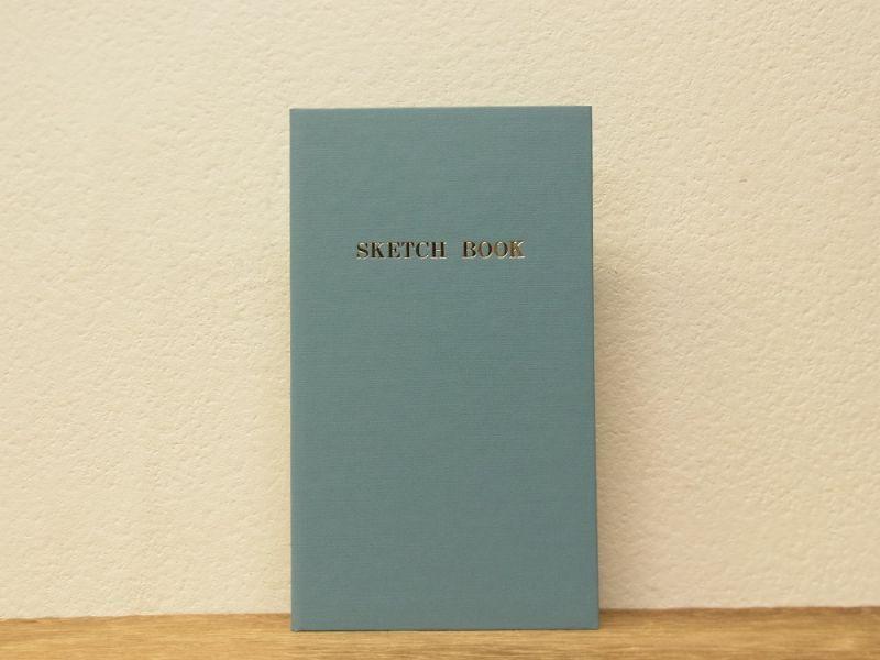 画像1: 【ネコポスOK】 コクヨ リミテッドカラー測量野帳 SKETCH BOOK ブルー