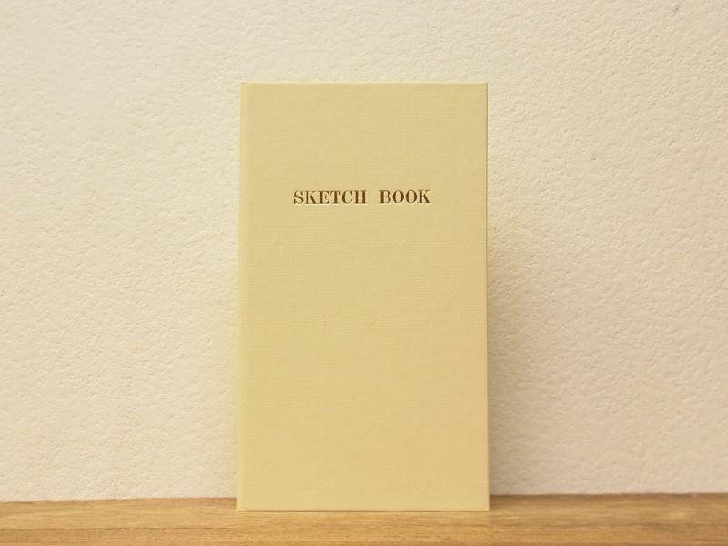画像1: 【ネコポスOK】 コクヨ リミテッドカラー測量野帳 SKETCH BOOK ベージュ