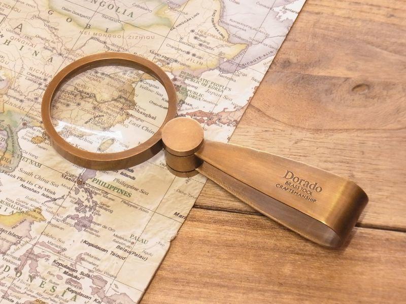 画像2: 【ネコポスNG】 Dorado 真鍮製 ルーペ