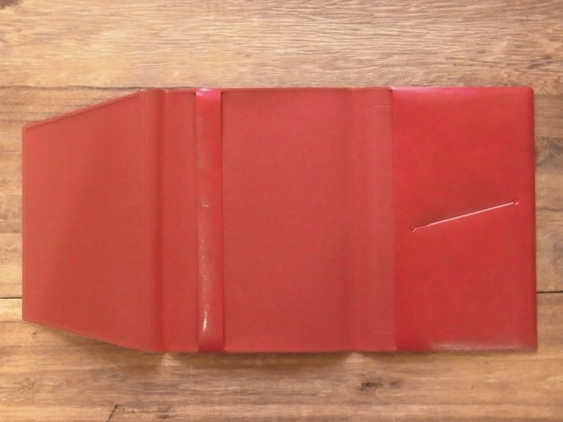 画像5: 【ネコポスOK】 きょうの一冊 ブックカバー レッド